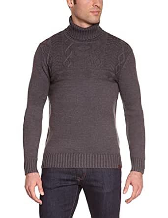 Mexx - Pull - Uni - Homme - Gris (Grey Stone Heather) - FR : 4XL (Taille Fabricant : 3XL)
