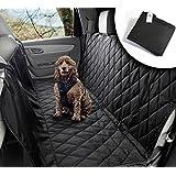 Hundedecke Auto | Wasserabweisend, waschbar, rutschfest und in universal Größe | Rückbank oder Kofferraum | Für große und kleine Hunde auf dem Autositz | Autoschondecke