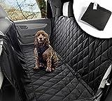 VIIRKUJA Hundedecke Auto | Wasserabweisend, waschbar, Rutschfest und in universal Größe | Rückbank oder Kofferraum | Für große und kleine Hunde auf dem Autositz | Autoschondecke