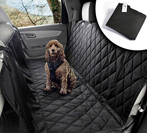 VIIRKUJA Hundedecke Auto | Wasserabweisend, waschbar, rutschfest und in universal Größe | Rückbank oder Kofferraum | Für große und kleine Hunde auf dem Autositz | - Kind Autositz Cabrio