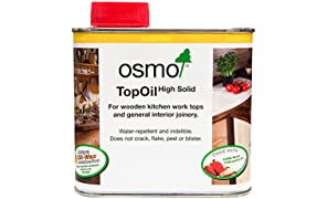 Osmo 3028 0.5 Litre Top Oil - Clear Satin
