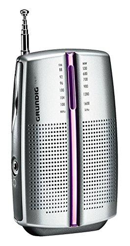 Grundig City 31 Tragbares Radio (UKW-/MW-Tuner) chrome - 2