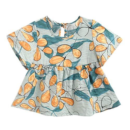 Allence Baby Mädchen Kleid,Babykleidung Kleinkind Mädchen Outfits Kleidung Floral Print Party Kleid Pageant Princess Dress Festzug Kleider Kinderkleidung