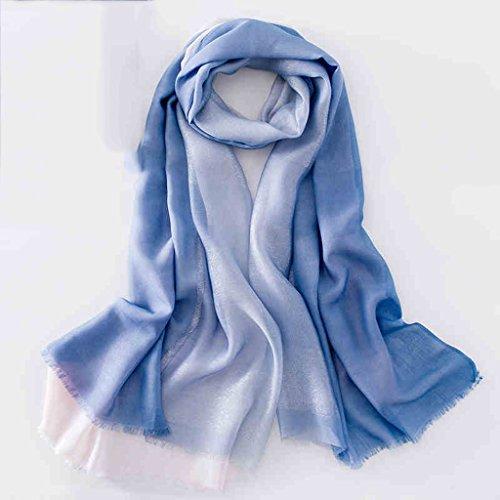 serviette de plage Écharpe en soie écharpe en soie ( Couleur : C ) C