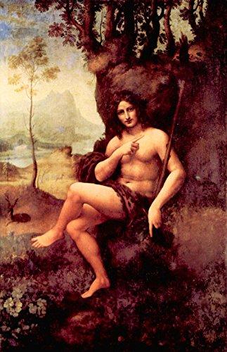 Bacchus Leinwand (Das Museum Outlet-Bacchus von Da Vinci-Leinwand (61x 45,7cm))