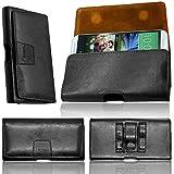 Lenovo C2 Designer Leather Holster Hand Made Case Securely
