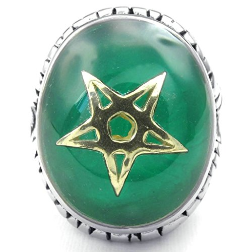 amdxd-bijoux-acier-inoxydable-bague-de-mariage-pour-hommes-vert-or-argent-ovale-forme-29mmtaille-64