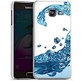 Samsung Galaxy A3 (2016) Housse Étui Protection Coque Eau Water Gouttes