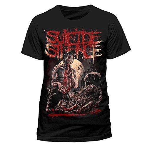 Suicide Silence Men's Grave Short Sleeve T-Shirt