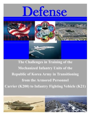 The Challenges in Training of the Mechanized Infantry Units of the Republic of Korea Army in Transitioning from the Armored Personnel Carrier (K200) to Infantry Fighting Vehicle (K21) (Defense)