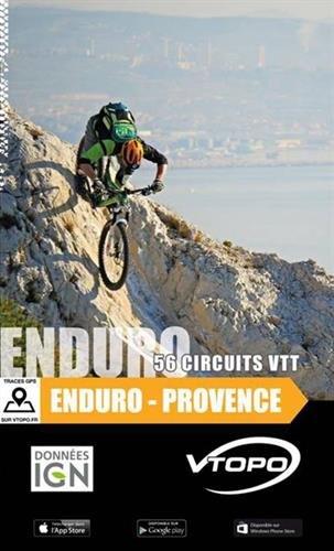 Enduro Provence : 56 circuits VTT par Vtopo