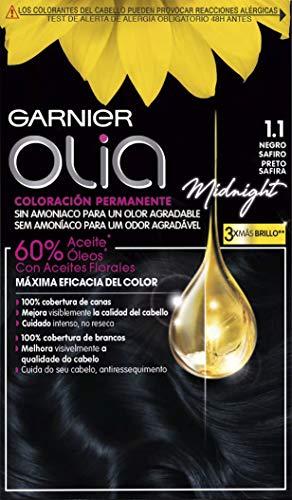 Garnier Olia Coloración Permanente sin Amoniaco para un Olor Agradable con Aceites Florales de Origen...