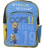 Despicable Me 2 16-inch DM2 Minion Mishap Backpack Plush Toy
