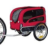 DOGGYHUT Rimorchio porta-cane di dimensioni medio per bicicletta 60301-01