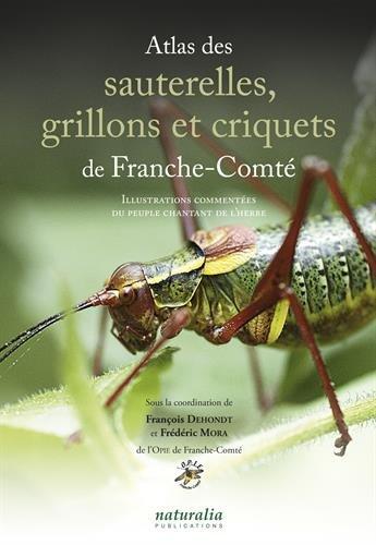 Atlas des sauterelles, grillons et criquets de Franche-Comté : Illustrations commentées du peuple chantant de l'herbe