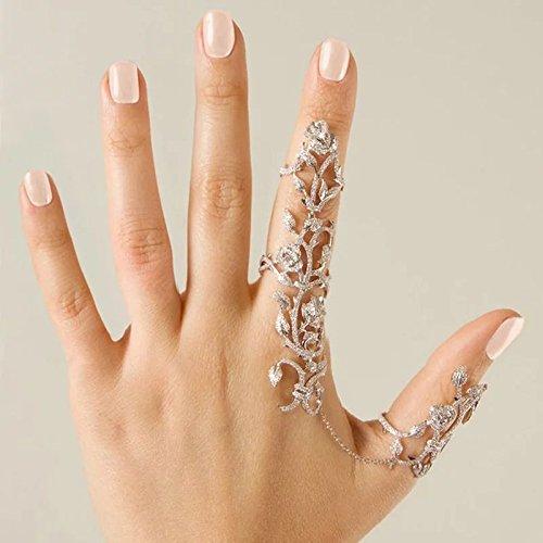 Satyam Kraft Golden American Diamond Ring Bracelet for Women