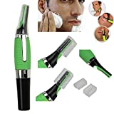 Unity BrandTM All-In-One Personal Micro Touches Touch Ear/Nose/Neck/Eyebrow Hair Trimmer with Precision