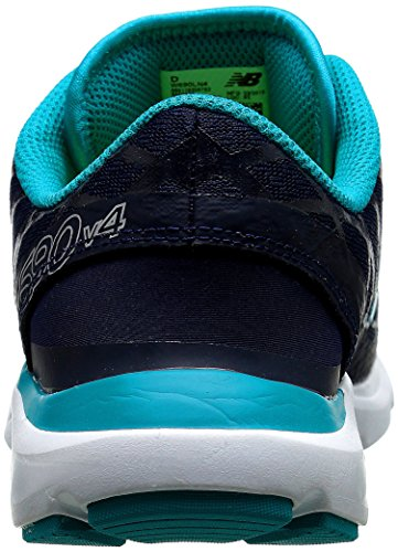 New Balance Women's W690v4 Pigment/Sea Glass 10 B - Medium Pigment/Sea Glass