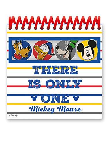 Mickey Maus-Notizbuch Geschenkidee bunt Einheitsgröße