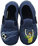 Giesswein - Torgau, Zapatillas de estar por casa Niños, Azul (Jeans), 34 EU