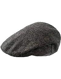 508291c9 TOSKATOK Mens Tweed Flat Caps