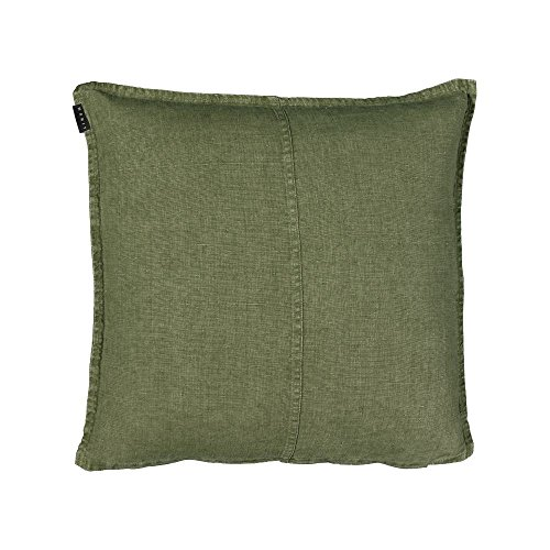 Linum West federa, 100% lino, dark olive green A93, 50