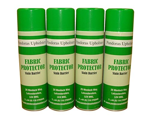 4 Large Fabric Protector 500ml Soil And Stain Guard