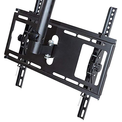 AOLIr Kleiderbügel Kleiderständer TV Halterung 32-65 Zoll TV Deckenhalterung 360 & Deg; Rotierende Verdickung hängende doppelseitige Aufhänger Decke LCD-Monitor Halterung Bildschirm kann 10 kg 75 & t