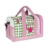 Lässig Mini Sportbag Sporttasche Schulsporttasche Kindergarten mit Schuhfach, Starlight Magenta