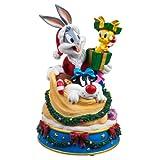 San Francisco Boîte à musique Factory Bugs et ses amis en sac à jouets du Père Noël figurine Boîte à musique