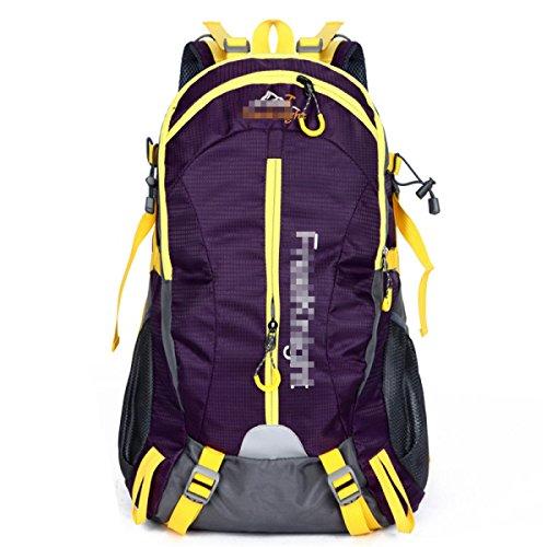Yueer 40L Impermeabile All'aperto Ricreazione Sport Viaggi Ultraleggeri Escursioni A Piedi Spalle Zaino,E D