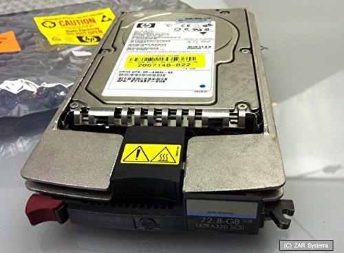 72.8GB 3.5 HP 286778-B22 Hot-Swap Festplatte HDD U320 SCSI für ProLiant Server