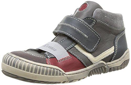 Little MaryOstory - Sneaker Bambino , Grigio (Gris (Nappa Shark D.Peau/S.Story)), 27