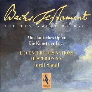 Bach : L'offrande musicale, L'art de la fugue
