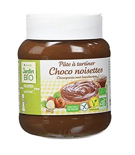 Jardin Bio Pâte à Tartiner Choco Noisettes sans Gluten 350 g