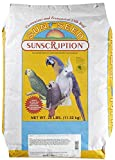 Mojetto Bird Supplies Parrot Miami Mix 25Lb