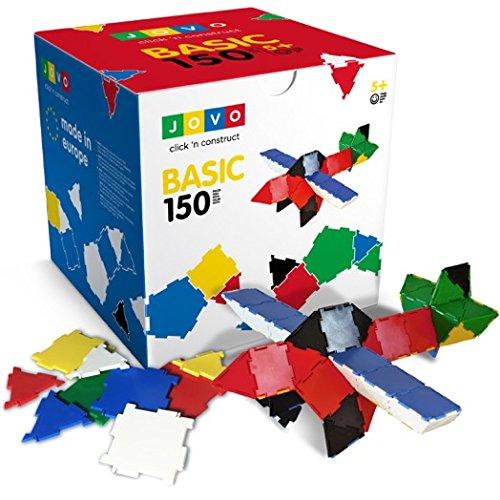 Konstruktionsspielzeug Jovo® - Basic 150 Teile Lernspielzeug Steckbaukasten