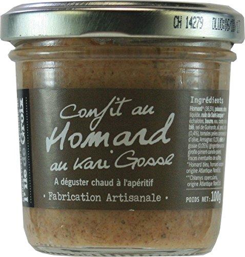 Terroirs Market - Epicerie Fine - Confit de Homard au Kari Gosse - 100 G