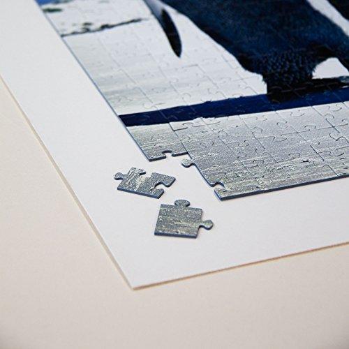 Puzzle Karton zum Aufkleben von Puzzles - selbstklebend - mit Aufhänger - Stärke: 2,5mm - Rückwand - Puzzle Fix - Board - aufhängen - (Größe: 50x70cm)