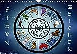 Sternzeichen (Wandkalender 2018 DIN A4 quer): Sternzeichen Horoskop (Monatskalender, 14 Seiten ) (CALVENDO Kunst) [Kalender] [Apr 01, 2017] Creation, Pezi
