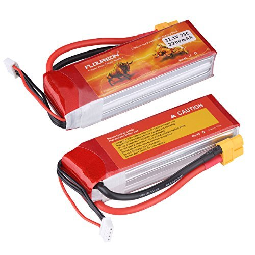 FLOUREON® 3S 11.1V Lipo batería para RC Helicóptero RC Avión RC Hobby RC DIY partes (25C 2200mAh XT60Enchufe) ¡