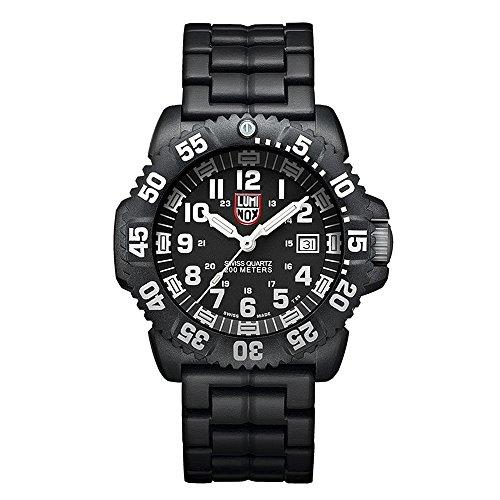 Luminox Navy SEAL Colormark XS.3052 Reloj de Plásticolsera Cuarzo Hombre correa de Plástico Negro