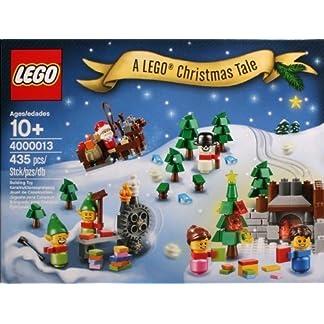 LEGO 4000013–a Christmas Tale–Rare 2013Employee Gift/una Historia de Noel