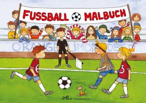 Preisvergleich Produktbild Malbuch : Fussball (A5)