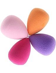 Demarkt Blender Foundation Puff Éponges 4pcs Pro Beauty Maquillage Flawless ♫♪