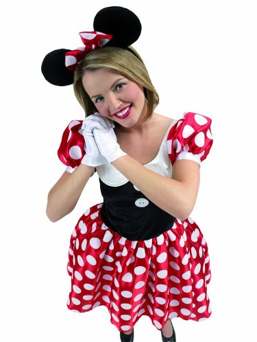Minnie Mouse Adult Gr. L, M, S, Größe:S