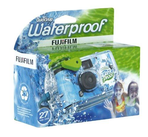 einwegunterwasserkamera Fujifilm Quicksnap Marine Einwegkamera für Unterwasseraufnahmen (27 Aufnahmen, wasserdicht bis 10 m)