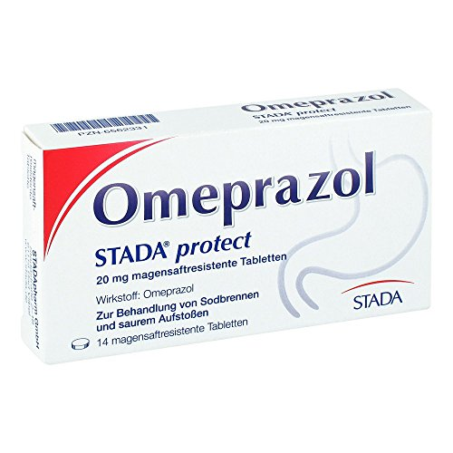 Omeprazol STADA protect 20 mg, 14 St. Tabletten -