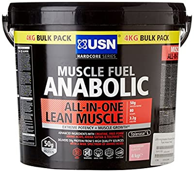 USN 4 kg Anabolic Strawberry Muscle Fuel by USN