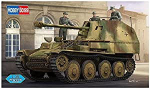 "Hobbyboss 80168""Marder III Ausf. M Tanque Destructor SD. KFZ. 138Tarde Kit de plástico Modelo, 1: 35Escala"